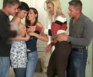 Naked Girls Orgy